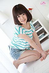 Kneeling On Floor Wearing Shorts