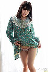 Raising Hem Of Dress Over Her Panties